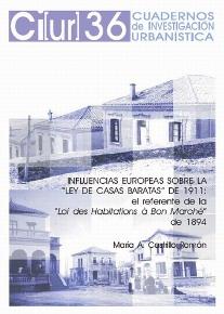 Ley de Casas Baratas; vivienda social; legislación